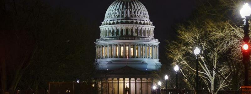 US-Kapitol - Foto: J. Scott Applewhite/AP/dpa