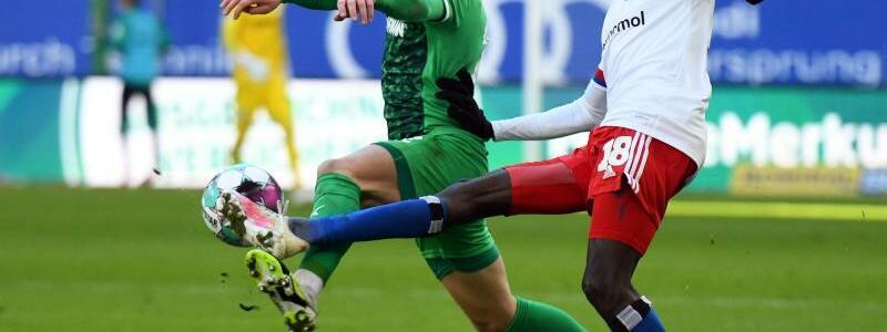 Hamburger SV - SpVgg Greuther F?rth - Foto: Daniel Reinhardt/dpa