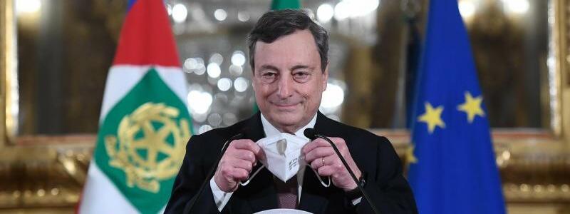 Mario Draghi - Foto: Alessandro Di Meo/Pool Ansa/ Lap/LaPresse via ZUMA Press/dpa
