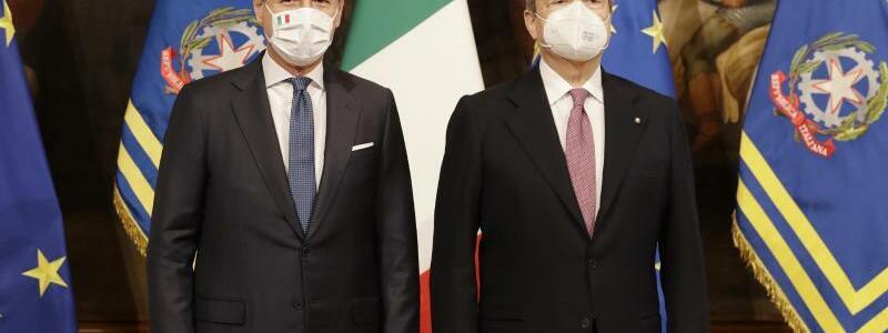 Italiens neue Regierung - Foto: Andrew Medichini/AP/dpa