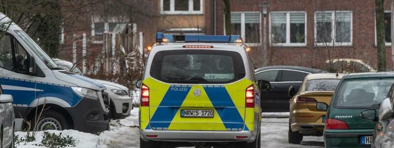 Einsatz in Hamm - Foto: Bernd Thissen/dpa