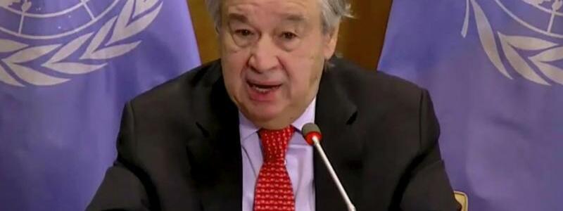 Antonio Guterres - Foto: Uncredited/UNTV/AP/dpa