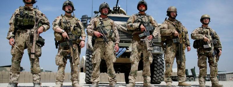 Soldaten der Bundeswehr - Foto: Kay Nietfeld/dpa