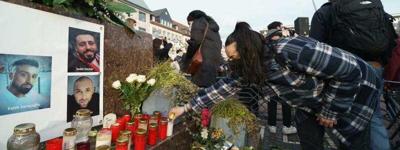 Gedenkfeier f?r die Opfer von Hanau - Foto: Andreas Arnold/dpa
