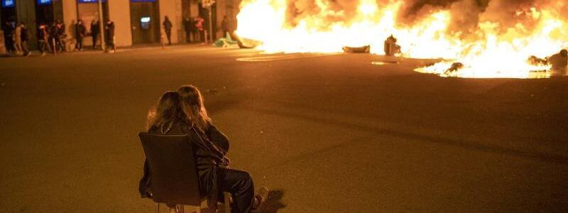 Protest in Barcelona - Foto: Emilio Morenatti/AP/dpa