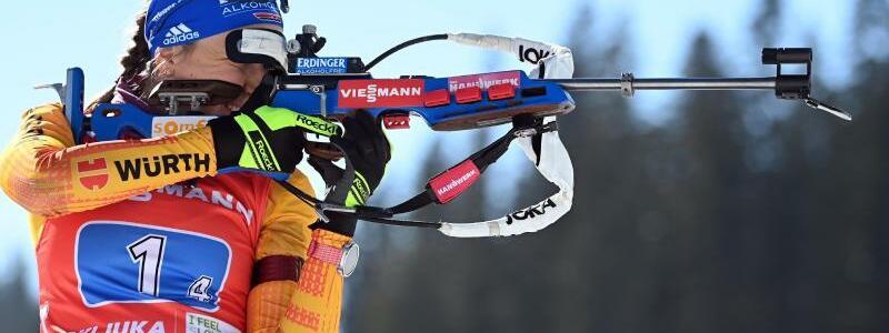 Biathlon-Staffel - Foto: Sven Hoppe/dpa