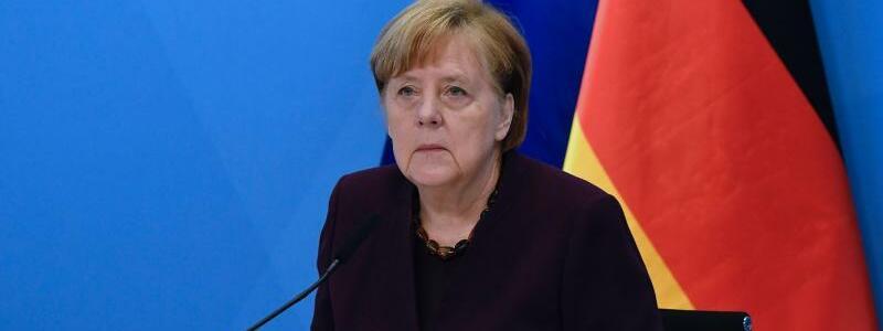 Angela Merkel - Foto: Tobias Schwarz/AFP-Pool/dpa