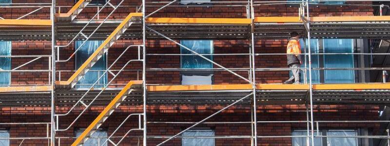 Wohnungsbau - Foto: Julian Stratenschulte/dpa