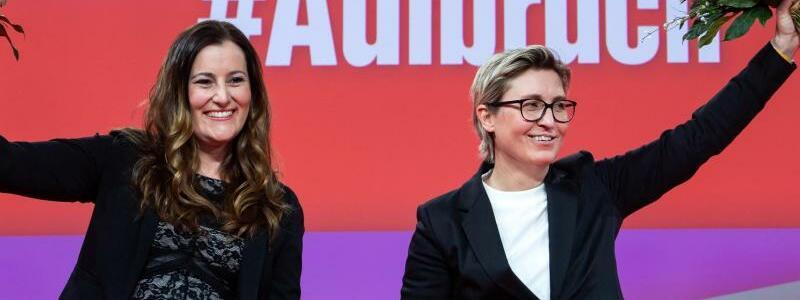 Parteichefinnen - Foto: Bernd von Jutrczenka/dpa