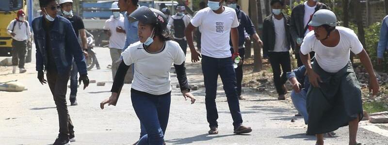 Flucht vor der Polizei - Foto: Uncredited/AP/dpa