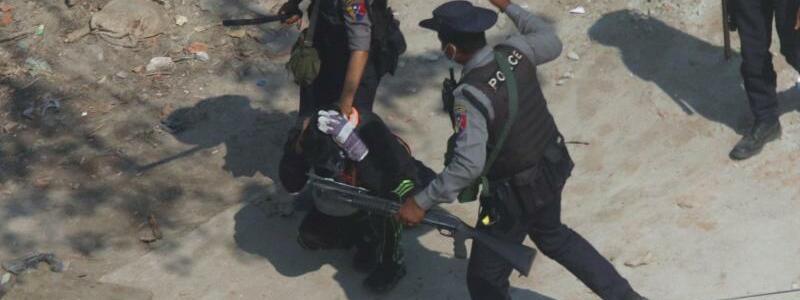 Polizei - Foto: -/AP/dpa