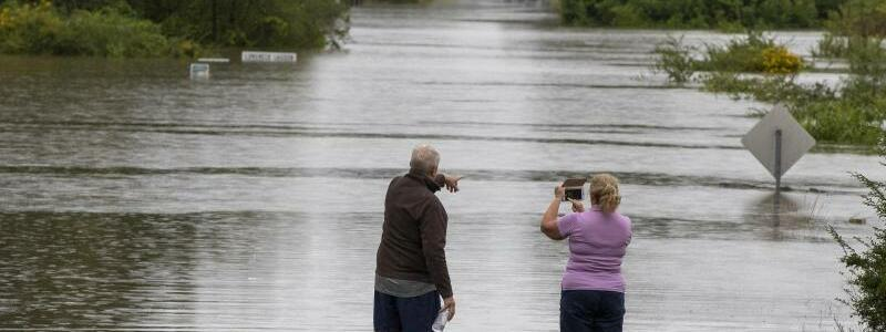 Hochwasser in Australien - Foto: Mark Baker/AP/dpa