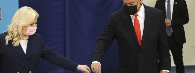 Parlamentswahlen in Israel - Foto: Ronen Zvulun/Pool Reuters/AP/dpa