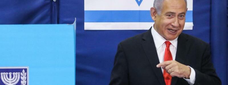 Benjamin Netanjahu - Foto: Marc Israel Sellem/JINI/XinHua/dpa