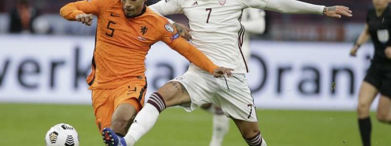 Niederlande - Lettland - Foto: Peter Dejong/AP/dpa