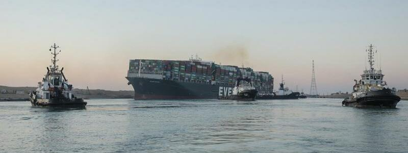 ?Ever Given? - Foto: -/Suez Canal Authority/dpa
