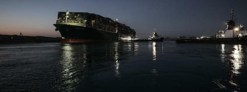 Containerschiff ?Ever Given? - Foto: -/Suez Canal Authority/dpa
