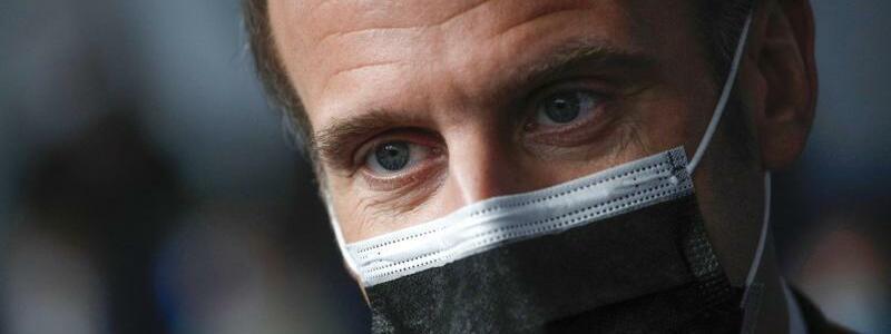 Frankreichs Pr?sident Macron - Foto: Yoan Valat/EPA POOL/AP/dpa