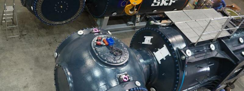 Gezeitenkraftwerk - Foto: -/Orbital Marine Power Ltd./dpa