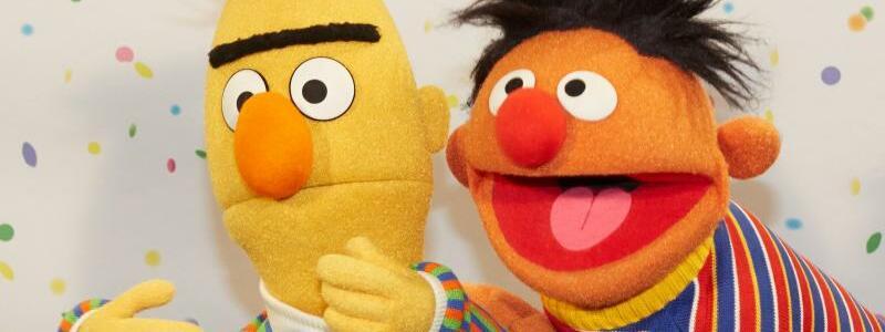 Ernie und Bert - Foto: Georg Wendt/dpa
