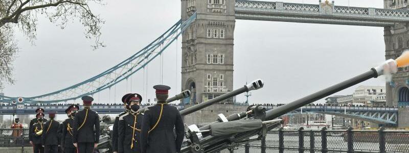 Nach dem Tod von Prinz Philip - Foto: Dominic Lipinski/PA/dpa