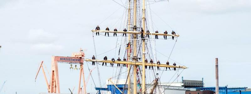 Segelschiff - Foto: Hauke-Christian Dittrich/dpa