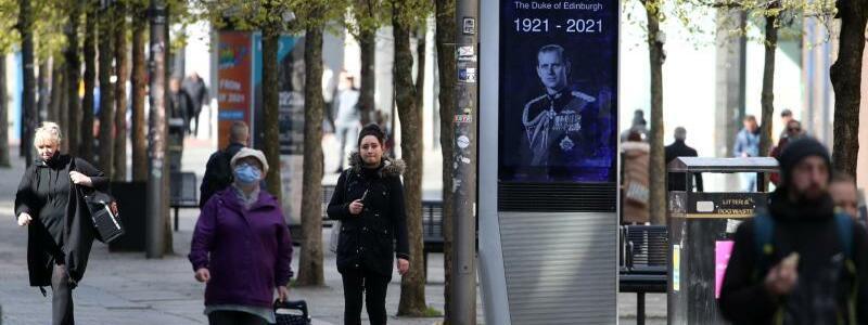 Trauer um Prinz Philip - Foto: Andrew Milligan/PA Wire/dpa