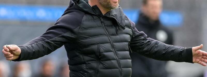 Hertha-Trainer - Foto: Soeren Stache/dpa-Zentralbild POOL/dpa