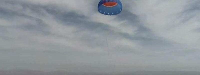Raumfahrtfirma von Amazon-Gr?nder Bezos testet erneut Rakete - Foto: Blue Origin/dpa