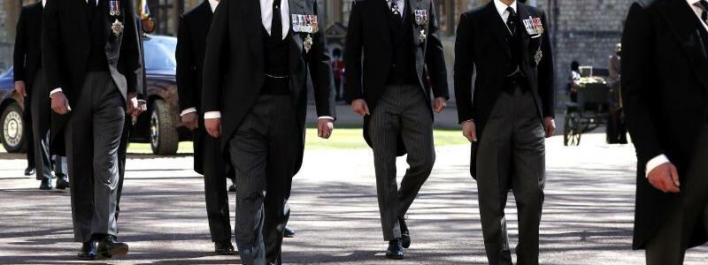 Trauerfeier und Beisetzung von Prinz Philip auf Schloss Windsor - Foto: Alastair Grant/PA Wire/dpa