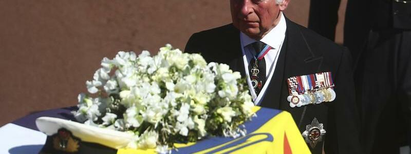 Trauerfeier und Beisetzung von Prinz Philip auf Schloss Windsor - Foto: Hannah Mckay/Pool Reuters/dpa