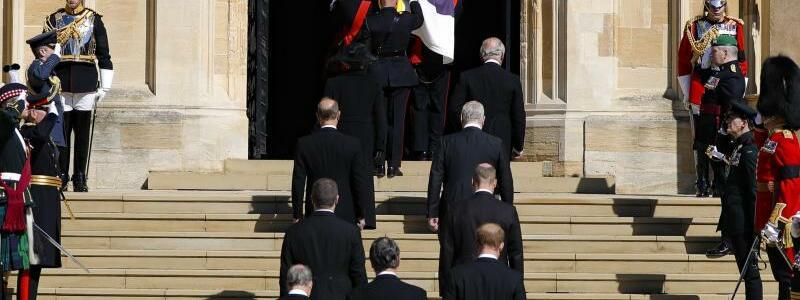 Trauerfeier und Beisetzung von Prinz Philip auf Schloss Windsor - Foto: Kirsty Wigglesworth/Pool AP/dpa