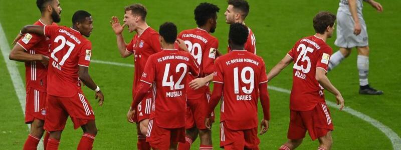 Bayern-Sieg - Foto: Christof Stache/AFP Pool/dpa