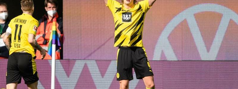 BVB-Matchwinner - Foto: Swen Pf?rtner/dpa