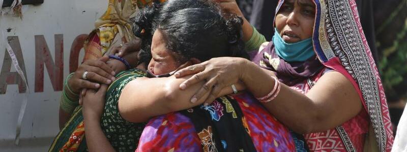 Trauer - Foto: Ajit Solanki/AP/dpa
