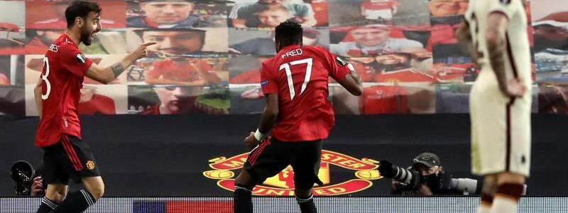 Manchester United - AS Rom - Foto: Martin Rickett/PA Wire/dpa