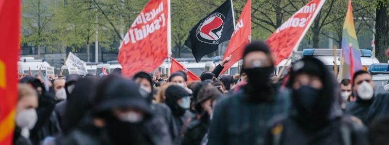 Demo in Hannover - Foto: Ole Spata/dpa