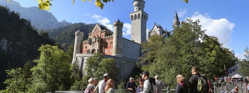 Tourismus in Bayern - Foto: Karl-Josef Hildenbrand/dpa