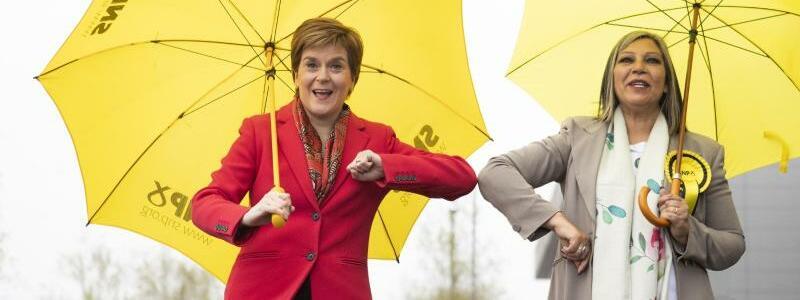 Parlamentswahlen in Schottland - Foto: Jane Barlow/PA Wire/dpa