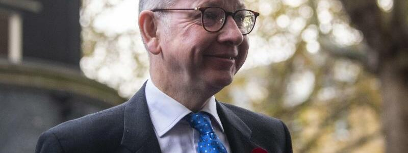Britischer Staatsminister Michael Gove - Foto: Victoria Jones/PA Wire/dpa