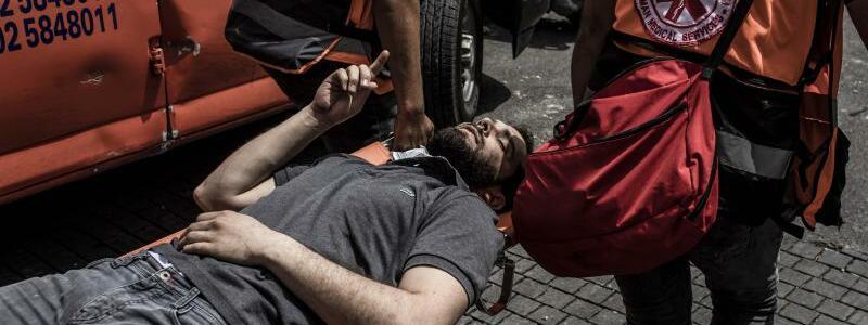 Verletzt - Foto: Ilia Yefimovich/dpa