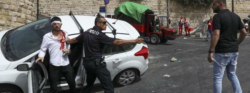 Konfrontation - Foto: Ohad Zwigenberg/Haaretz/AP/dpa