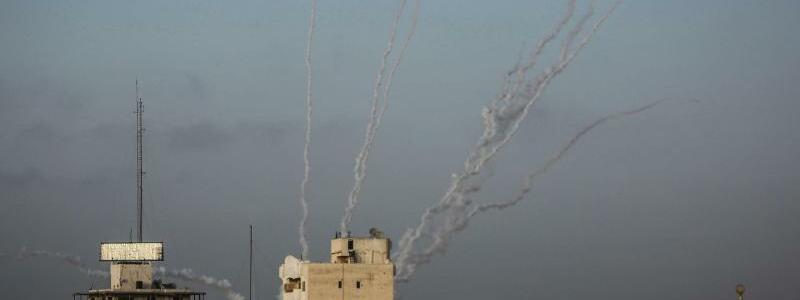 Raketenbeschuss - Foto: Mohammed Talatene/dpa