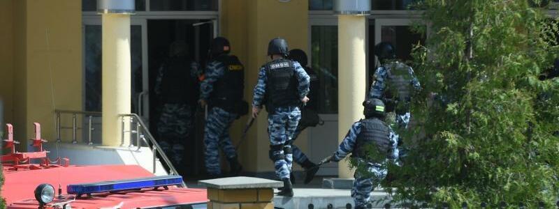 Angriff auf russische Schule - Foto: Maksim Bogodvid/Sputnik/dpa