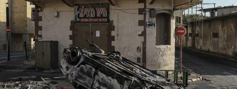 Sch?den in Lod - Foto: Ilia Yefimovich/dpa