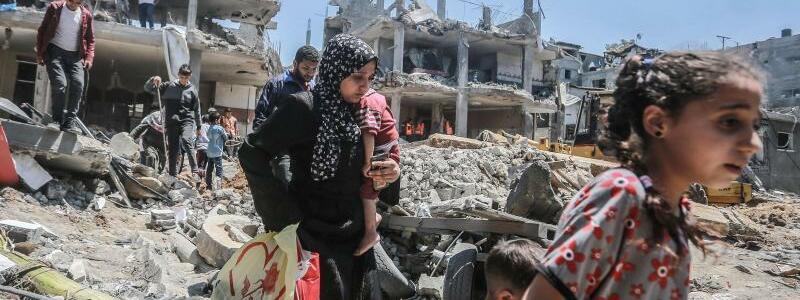 Gaza - Foto: Mohammed Talatene/dpa