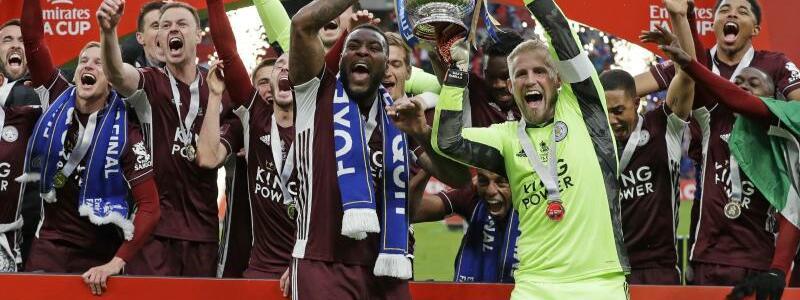 FA-Cup-Sieger - Foto: Kirsty Wigglesworth/AP POOL/dpa