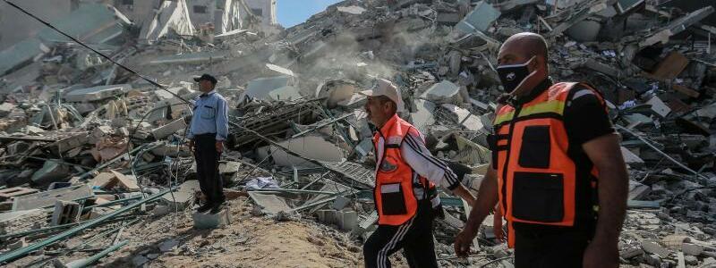 Konflikt in Nahost - Foto: Mohammed Talatene/dpa