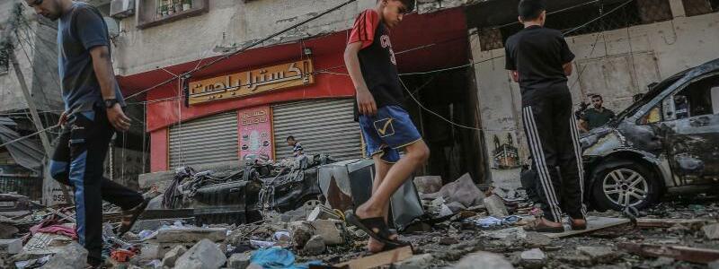 Gaza-Stadt - Foto: Mohammed Talatene/dpa