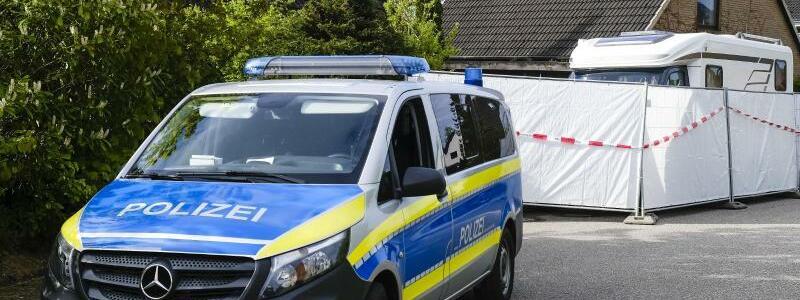 Polizeieinsatz - Foto: Frank Molter/dpa